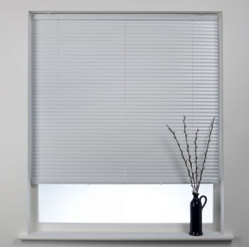 Swish Cordless 25mm Aluminium Venetian Blind - Polar White